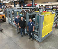Industrial Kinetics slat conveyor to pull 1,270,000 LB