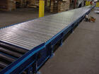 Padded Chain Driven Live Roller Conveyors