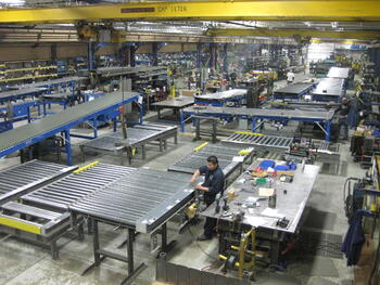 Conveyor Assembly & Shipping
