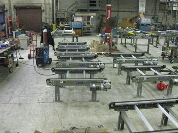 Chain Conveyor in Assembly