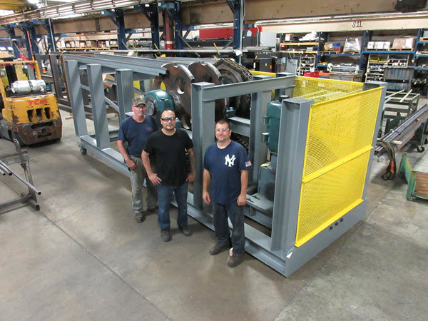 Industrial Kinetics lead assembly team